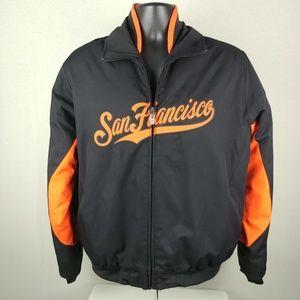 Majestic San Francisco Giants MLB Zipped Jacket